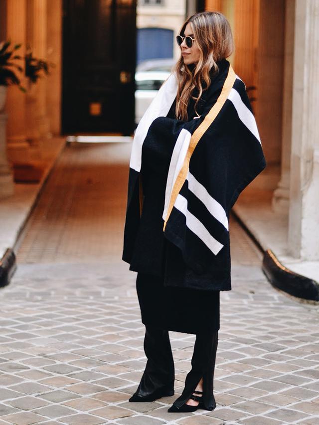 Trend: The Blanket Coat