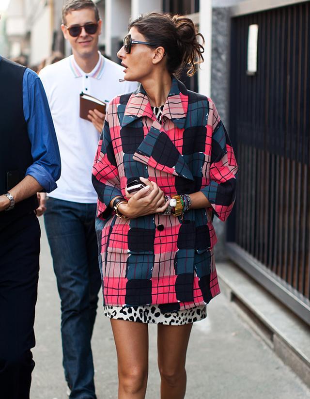 Trend: Wearing Clashing Prints