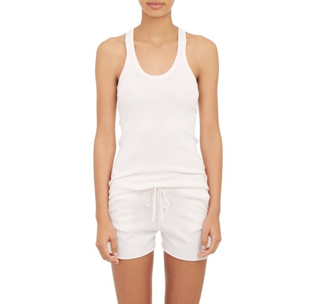 ATM Anthony Thomas Melillo Basic Rib-Knit Tank