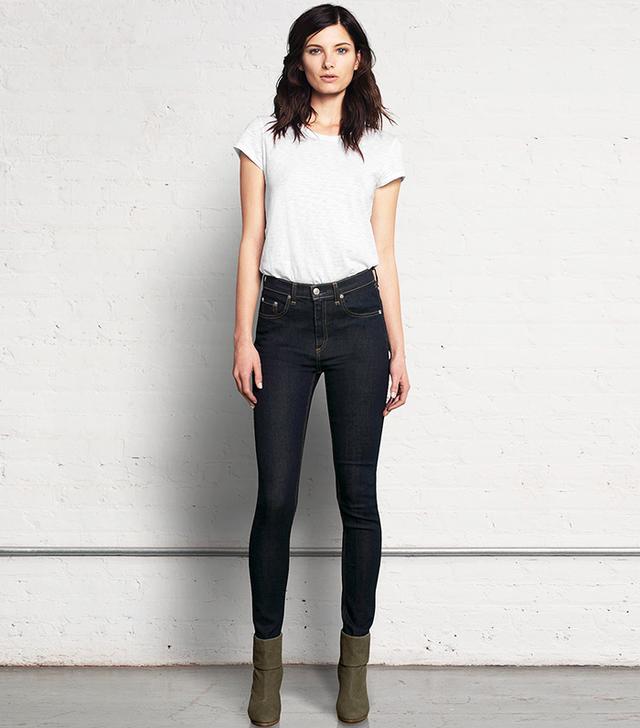 Rag and Bone Justine High Waisted Skinny Jeans – Harrow