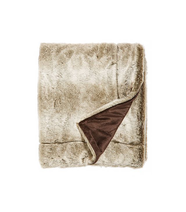 Kennebunk Home Faux Fur Throw