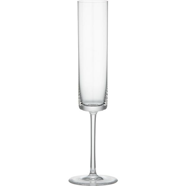 Crate & Barrel Edge Champagne Glass