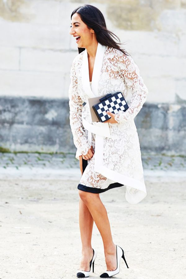 Fancy Jacket + Bold Clutch