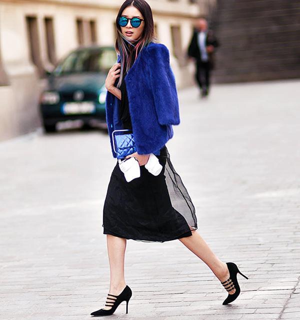 Midi Dress + Strappy Heels