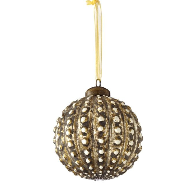 Sage & Co. Chateau Glass Beaded Ball Ornament