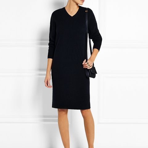 Kambo Stretch Wool-Blend Jersey Sweater Dress