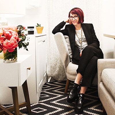 Before & After: Megan Mullally's Charming Broadway Dressing Room