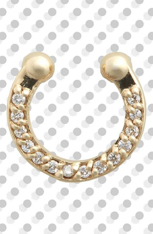 Meadowlark Diamond & Gold Septum Ring