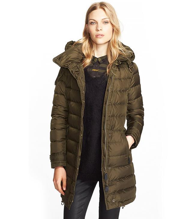 Burberry Winterleigh Hooded Down Coat