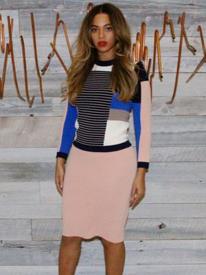 The Designer Behind Beyonce's Totally Chic Knit Look