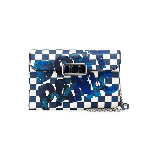 Marc by Marc Jacobs Pegg Don't Panic Checkered LED-Clasp Crossbody Bag