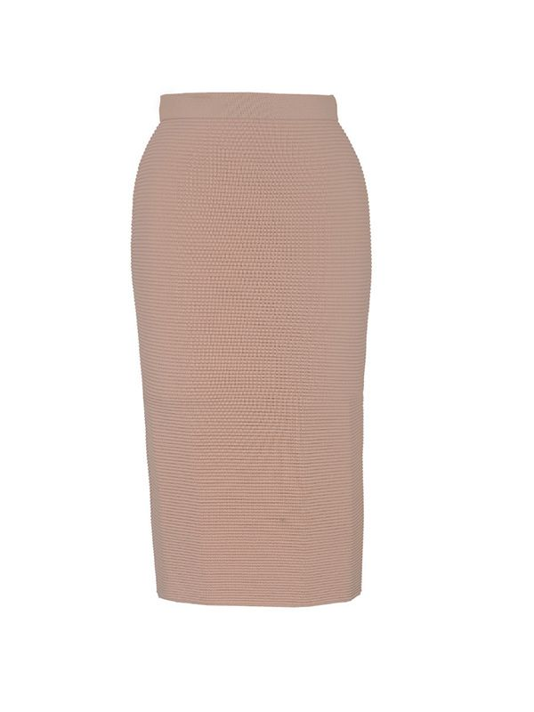 Jonathan Simkhai Knit Rib Pencil Skirt