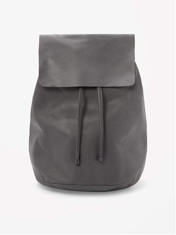 Cos Soft Leather Backpack