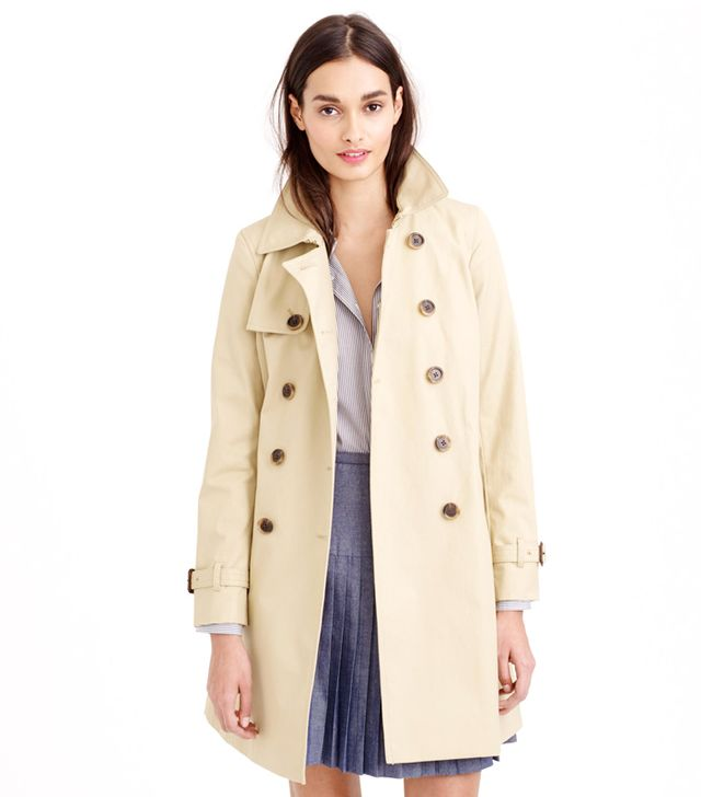 J. Crew Collection Icon Trench Coat