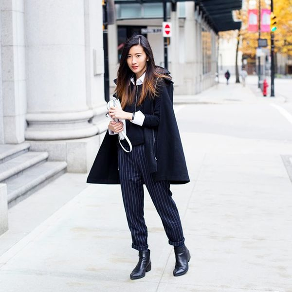 Winter Monochrome Outfits
