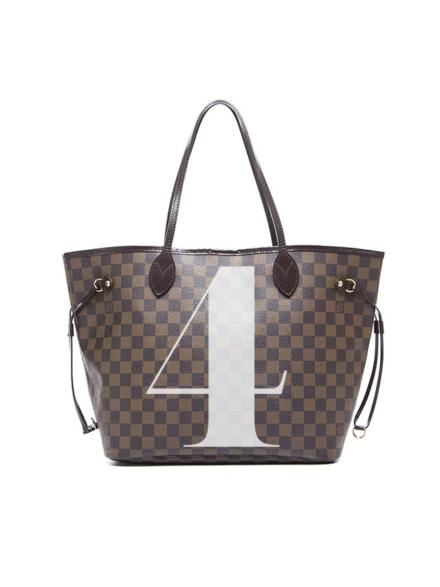 Louis Vuitton Pre-Owned Damier Ebene Neverfull MM Tote Bag