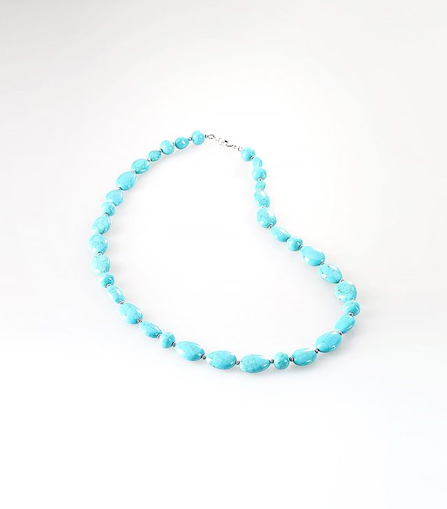 Ralph Lauren Turquoise Beaded Necklace