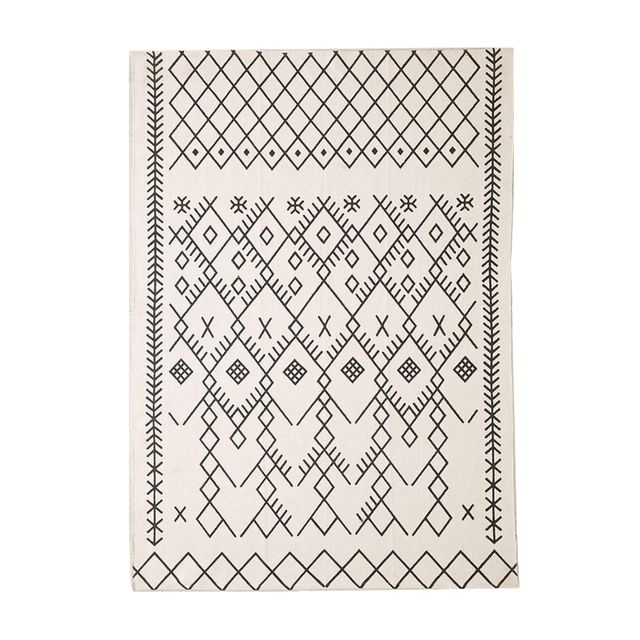 Urban Outfitters Magical Thinking Printed Boucherouite Rug (8'x10')