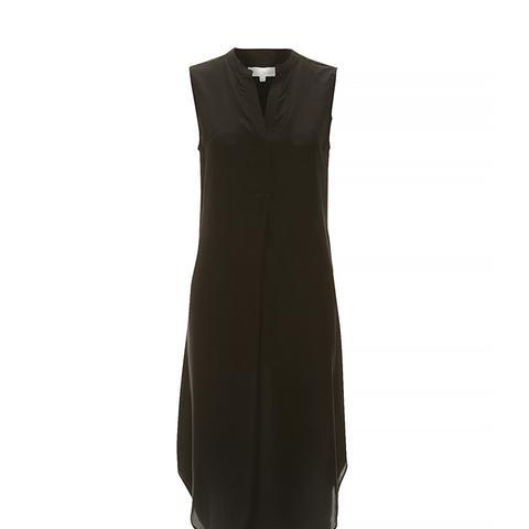 Signature Silk Placket Dress