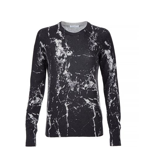 Long Sleeve Cashmere Marble Sweater