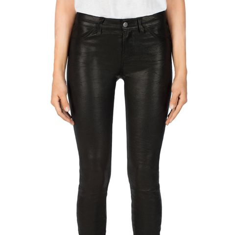 L8001 Leather Super Skinny Pants
