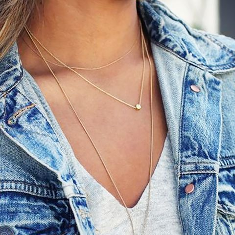 Hack #6: How to keep necklaces untangled while travelling.