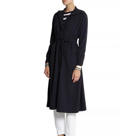 Odessa Crepe Coat