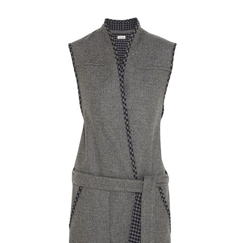 Wool-blend Felt Vest