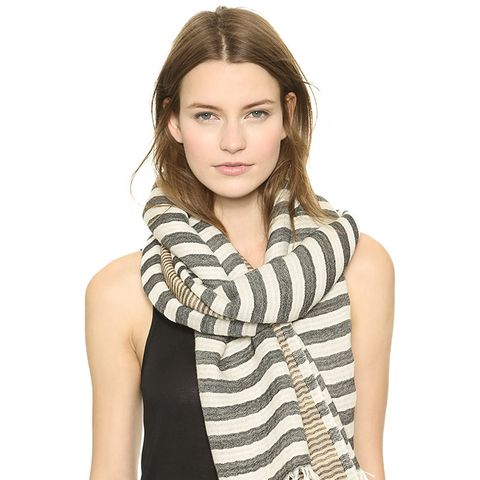 Tory Striped Scarf