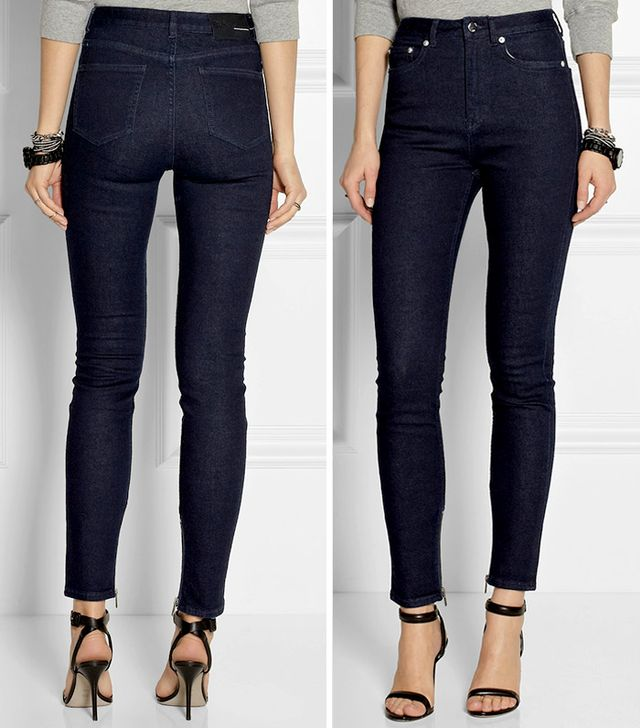 BLK DNM 8 High-Rise Skinny Jeans