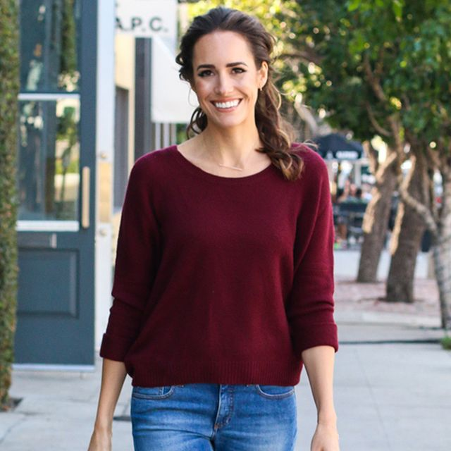 Louise Roe Shows You How to Take Your Skinny Jeans to Next-Level Chic