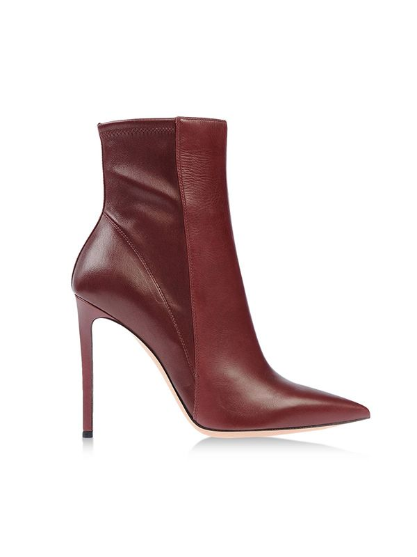 Gianvito Rossi Leather Stretch Ankle Boots