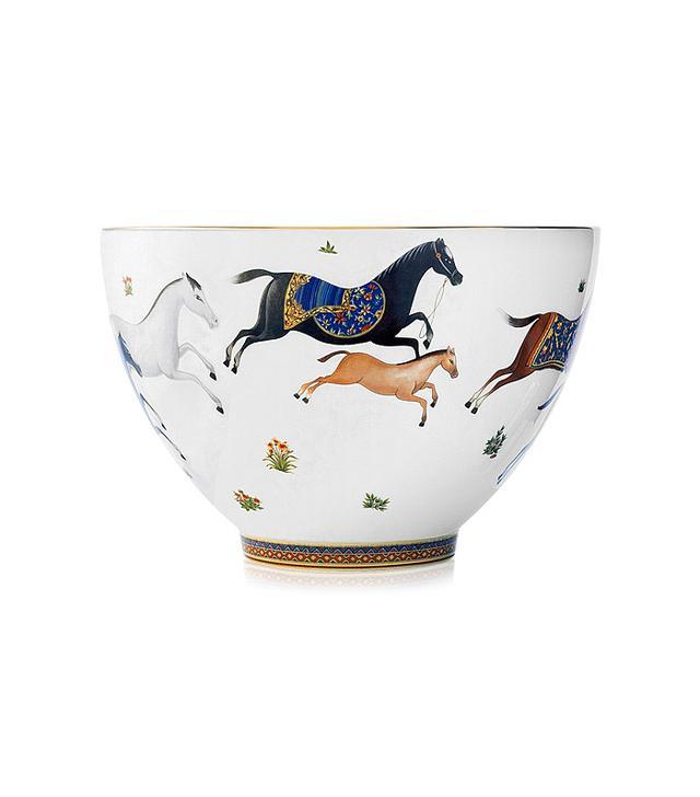 Hermès Cheval d'Orient Punch Bowl