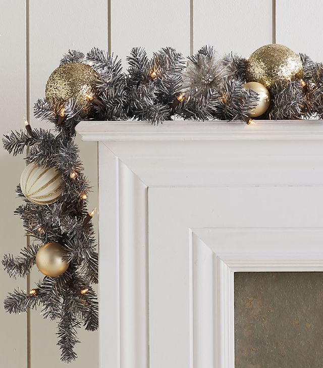 Pier 1 Steel-Toned Garland