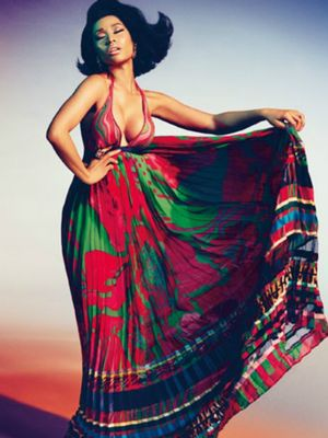 Must See: Nicki Minaj's Gorgeous New Campaign for Roberto Cavalli