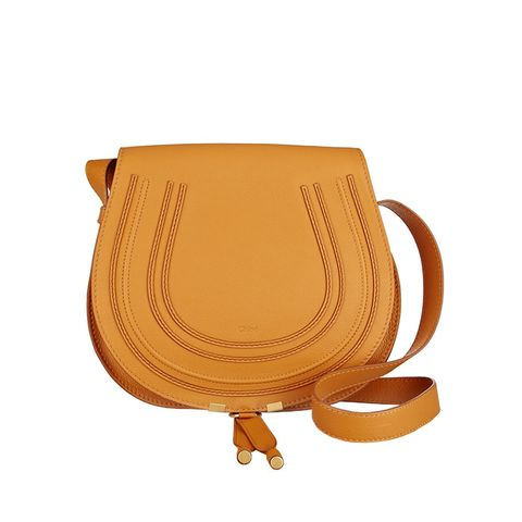 The Marcie Medium Textured-Leather Shoulder Bag