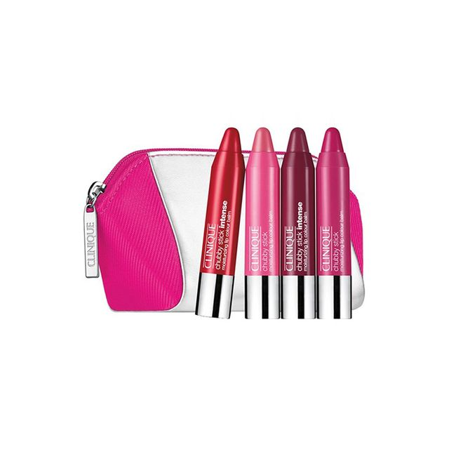 Clinique Chubby Stick Intense Moisturizing Lip Color Balm Travel Set