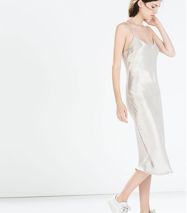 Zara Studio Slip Dress