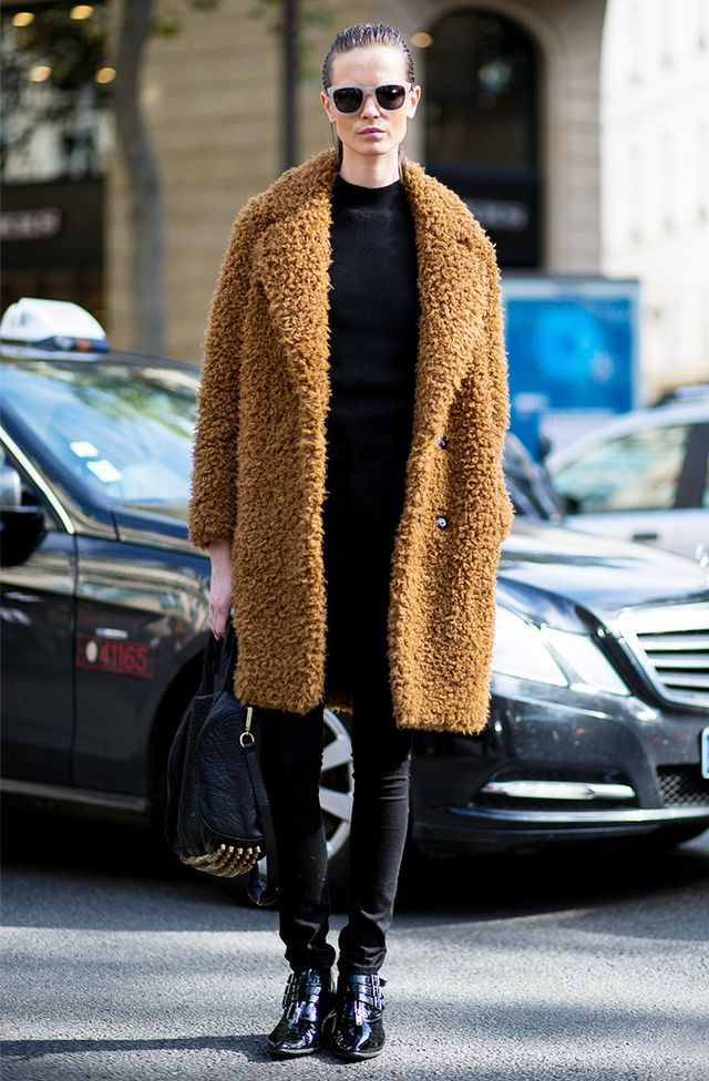Tip of the Day: How to Style a Teddy Bear Coat