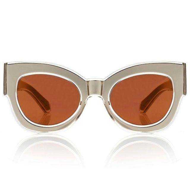Karen Walker,Karen Walker Gold Northern Lights Sunglasses