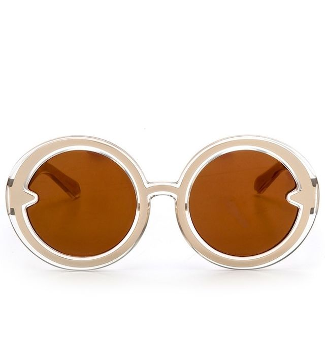 Karen Walker,Karen Walker Orbit Filagree Mirrored Sunglasses