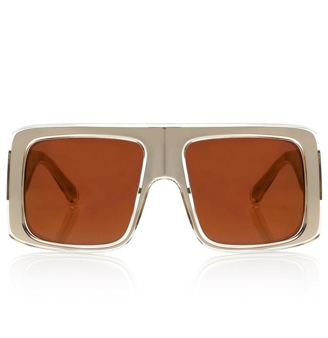 Karen Walker Gold Hector Sunglasses