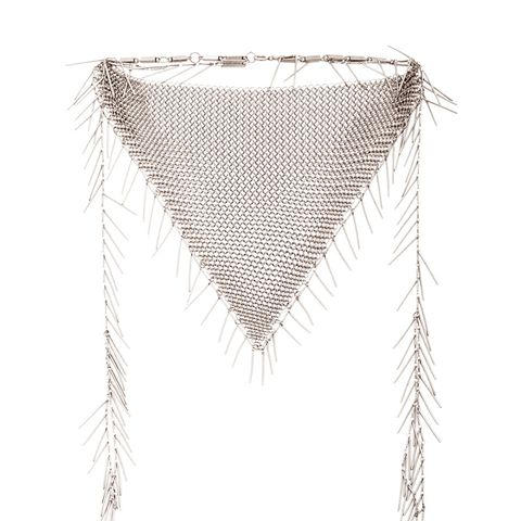 Linares Mesh Chain Necklace