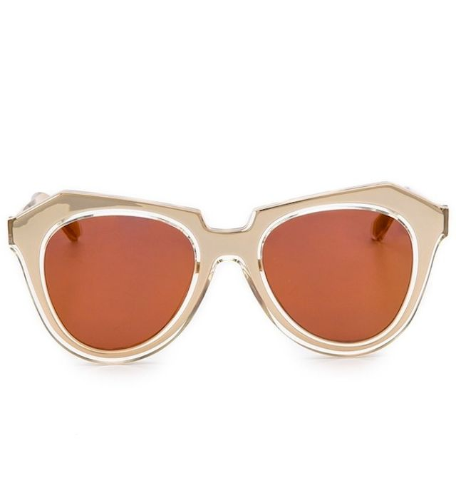 Karen Walker Number One Mirrored Sunglasses