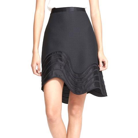 Detail A-Line Skirt