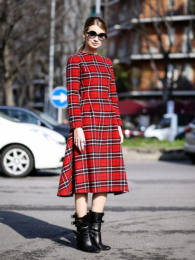 Tip of the Day: A Compliment-Worthy Way to Wear Plaid