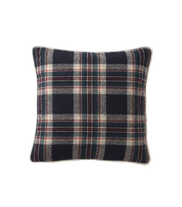 Schoolhouse Electric Granddad Plaid Throw Pillow