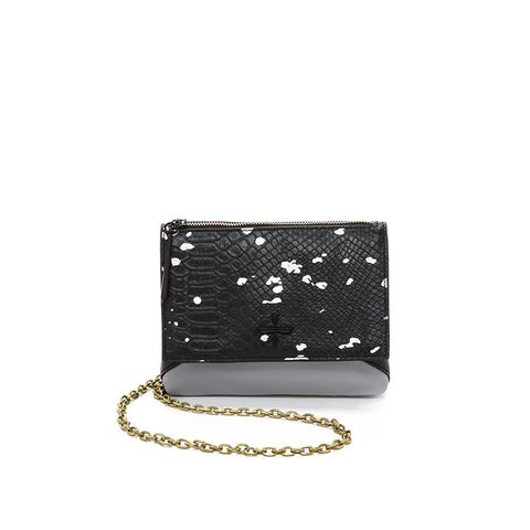 Snake Print Noemi Mini Bag