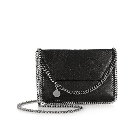 The Fallabella Mini Faux Python Shoulder Bag