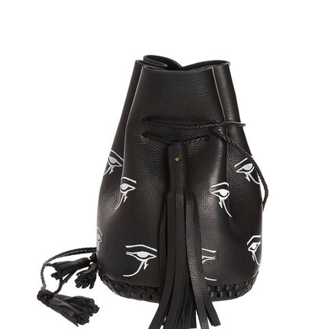 Embroidered Eye of Horus Bullet Bag